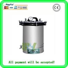 Stérilisateur d'autoclave-MSLPS02W Équipement de stérilisation à la vapeur d'acier / Stérilisateur à la vapeur