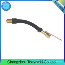 Accesorios de soldadura RB 61GD cuello de cisne MIG MAG recambios de soldadura de CO2