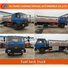 Caminhão de tanque do combustível de Dongfeng 4X2 Caminhão de tanque do combustível de 2axles
