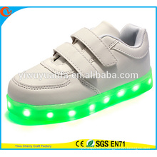 Hot Selling Light Flashing Running Lace Up Sneaker LED Shoes for Kids