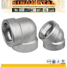 45 Degree 90 Degree Stainless Steel Forged Elbow Fitting