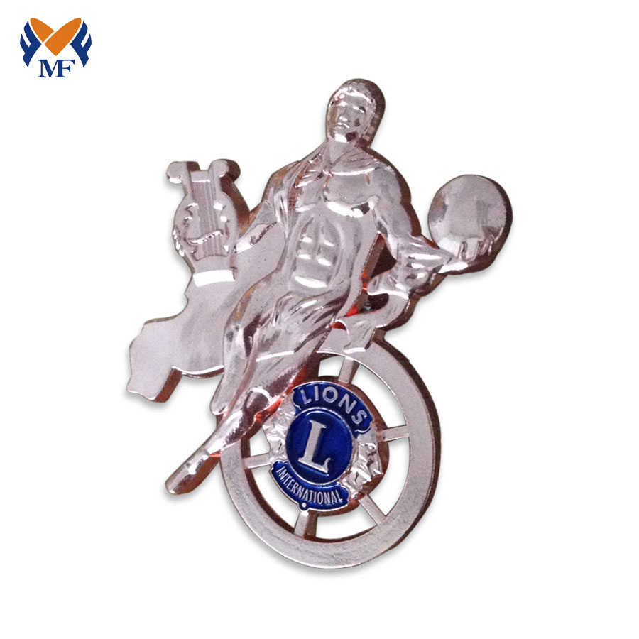 Silver Plating Badge