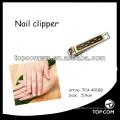 cortadora de clavo del cuidado personal de la placa de oro