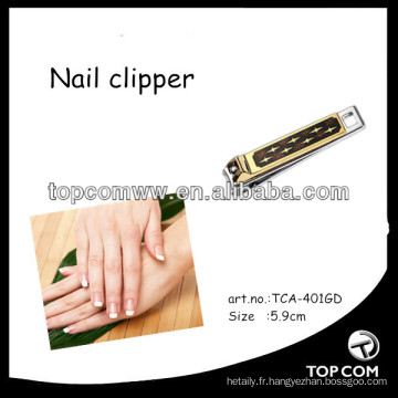 coupe-ongles soins personnels plaque d'or