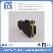 DVI zu HDMI Adapter für Tablette für Monitor DVI-I (24 + 5) Konverter Adapter DVI Buchse auf HDMI Stecker Adapter