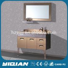 Zhejiang Bathroom Furniture Stainless Steel Bathroom Cabinet