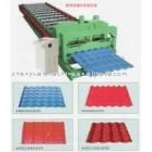 Arc Bias Glazed Tile Roll formando máquina