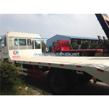 Dongfeng flat bed truck 4x2 RHD for sales