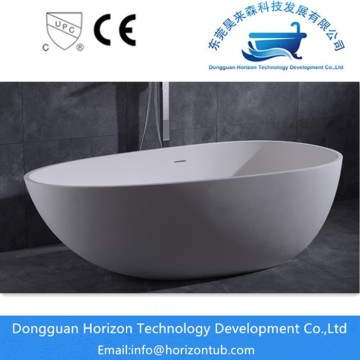 Solid surface natural stone bath