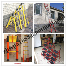 Fiberglass step ladder&hot selling ladder,A-shape fiberglass insulated ladders