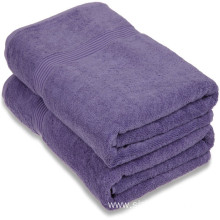 Bath Towel 100% Cotton Fabric For Hotel Home