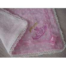 "Cute towel gauze handkerchiefs ""Pretty Flowers"""