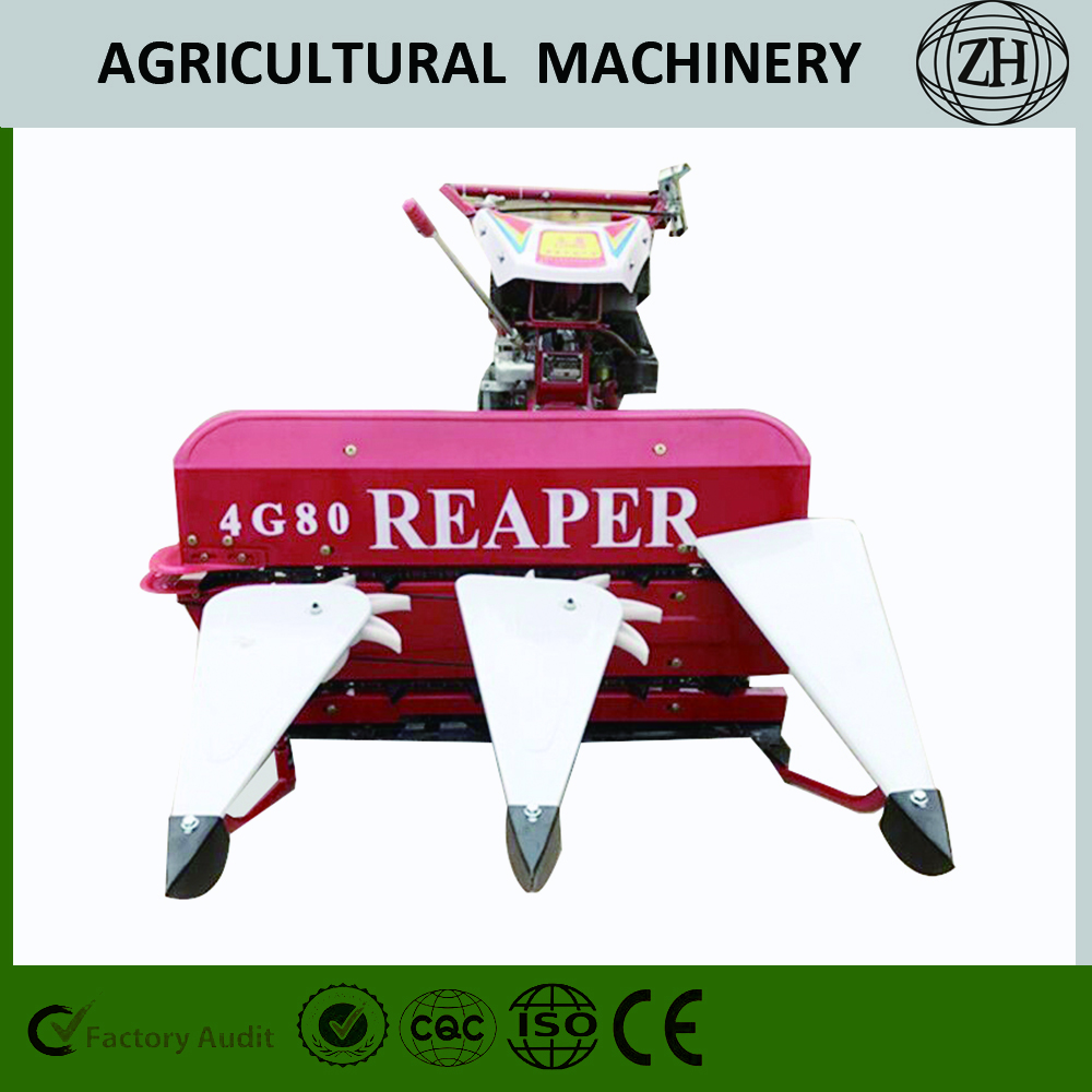 4GK80 / 100 Mini Walking Wheat Reaper Binder Harvester