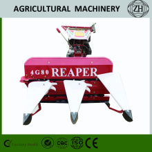 4GK80/100 Mini Walking Wheat Reaper Binder Harvester