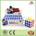 Cheap YongJun caisse d'affichage personnalisée puce magique cube 6 pcs par boîte