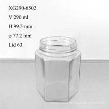 Tarro de vidrio para alimentos 290ml (XG290-6502)