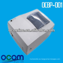 Transferencia térmica y impresora térmica directa del código de barras