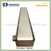 Stainless steel food conveyor belt automatic production line