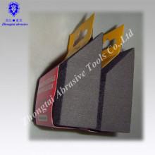 Éponge de ponçage abrasive d'oxyde d'aluminium d'angle d'OEM