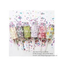 Fiesta de confeti Push Pop para cumpleaños, boda, fiesta de Navidad