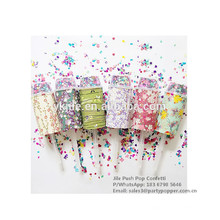 Confetti Party Push Pop For Birthday,Wedding,Christmas Party