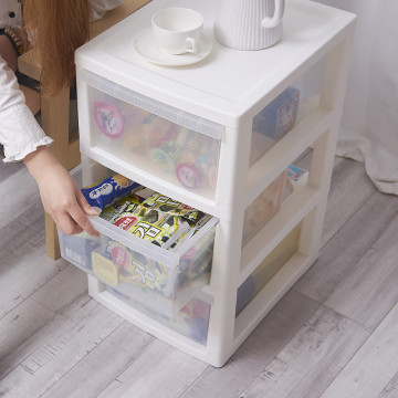 4 Tier Plastic Storage Drawer