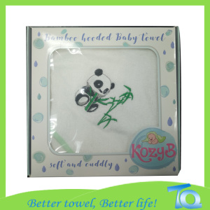 New Design 100 Cotton Hooded Baby Bath Towel
