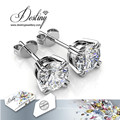 Destiny Jewellery Crystals From Swarovski Simple Stud Earrings