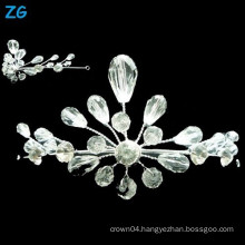 Yiwu Zhanggong crystal wholesale beauty pageant bridal using bridal crown
