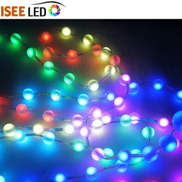 Mini 360 Derece 3D LED Top Küp Perde Işık
