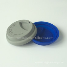 Anti Dust Silicone Cup Cover for Coffee