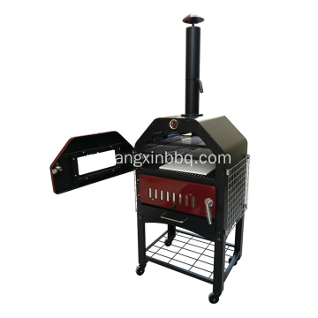 High-end Deluxe Pizza Forno Com Janela