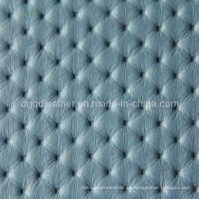 Venta caliente de muebles de cuero de PVC (QDL-FV026)