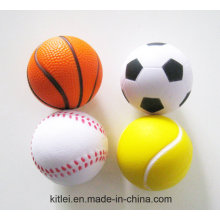 Promotion Custom Stress Ball, Logo Printing PU Stress Ball, Wholesales Anti Stress Foam Ball