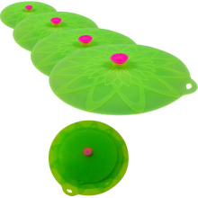 Durable Suction Seal pot Lid Silicone cover