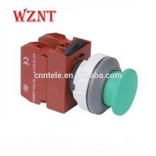 Interrupteur au pied à bouton-poussoir de verrouillage de type tête convexe de 30 mm