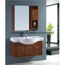 Cabinet de salle de bain en bois massif / vanité de salle de bain en bois massif (KD-451)