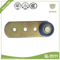 Steel Side curtain Roller With Shank Tapered Wheel