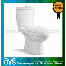 ovs foshan sanitary ware ceramic wash down two-piece toilet seat A2509