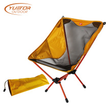 Modern Orange Foldable Comfortable Camping Chair