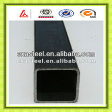 Black Square Construction Steel Pipe