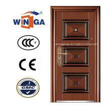 South Africa Popular Security Steel Copper Door (W-ST-01)