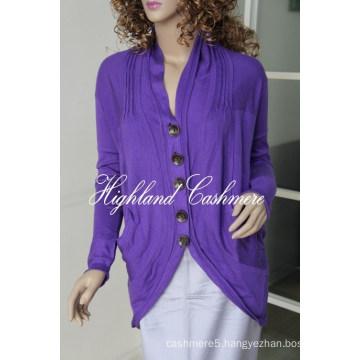 Ladies′ V Neck Fashion Cardigan Cspc1102L