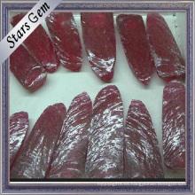Material en bruto Ruby sintético grande Stock Stock