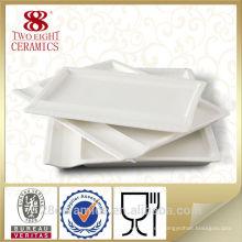 Artículos de uso diario al por mayor, vajilla de cubertería, plato de porcelana barata