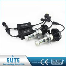 2xG7 H4 4000lm H4 H13 6500K LED faro del coche Hi Lo White Beam sin ventilador kit de bombilla de conversión Auto Parts Replacement
