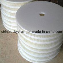600 milímetros de nylon fio escova de placa redonda para a limpeza do molde (YY-433)