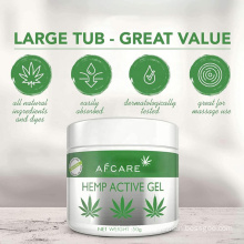 Private Label Natural Organic Cbd Hemp Active Relief Gel for Joints and Muscle