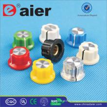 MF-A01P MF-A01P coloré guitare bouton en plastique bouton bouton volume