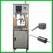 Automatic servo pneumatic rotor shaft pressing machine